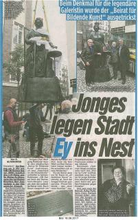Jonges legen Stadt Ey ins Nest