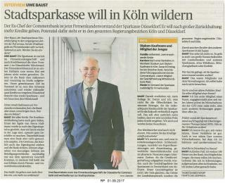 Stadtsparkasse will in Köln wildern