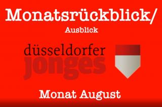Video Monatsrückblick August